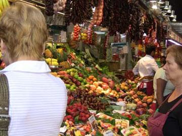 新鮮な野菜や果物~
