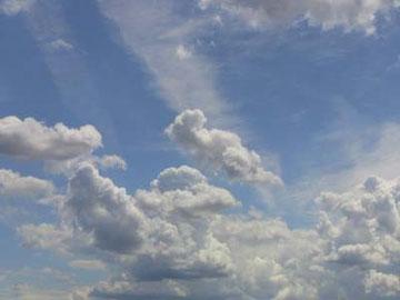 今日のフィレンツェの空。