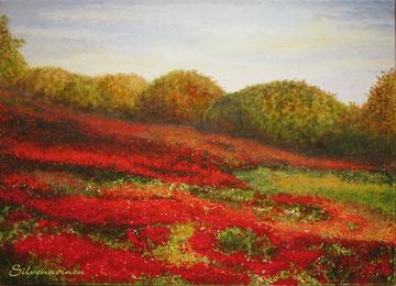 Zum Vergrößern klicken //Acryl-Ölmalerei auf  Baumwollkeilrahmen  50 x 70