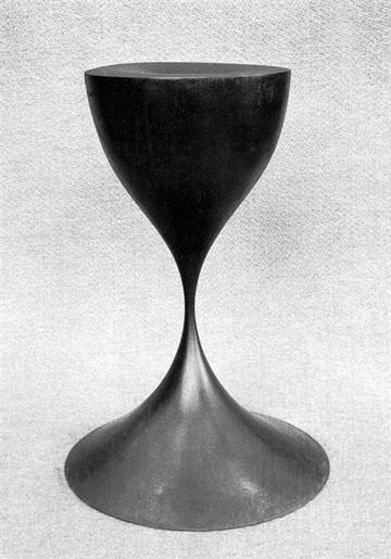 地上にて  <No.K-15>  / 1986 / cor-ten steel(耐候性鋼) / H.35x20x20cm