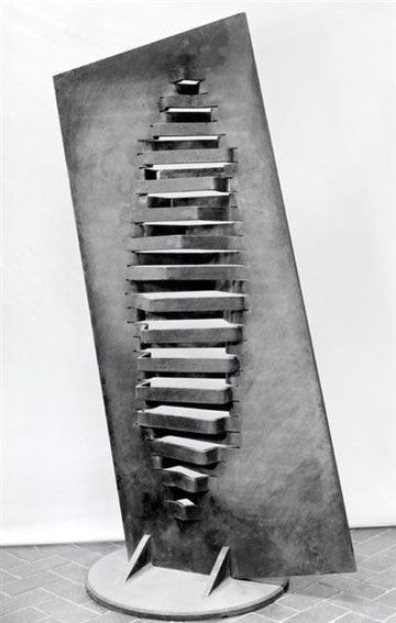 間 No.9  -  wall <No.K-31>  / 1989 / cor-ten steel(耐候性鋼) / H.270x150x95cm