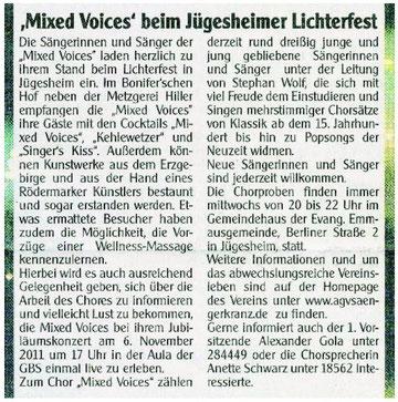 22.10.2011 - Lichterfest