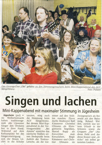 03.03.2011 - Kappenabend