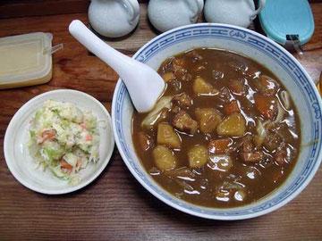 なにやさんの米粉麺カレー(特別メニュー)