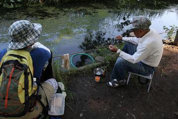 釣り上手のおじさん 地元の方で色んなお話が聞けました そんなひと時がとても好きです