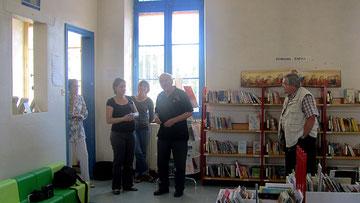 Inauguration de l'espace enfants