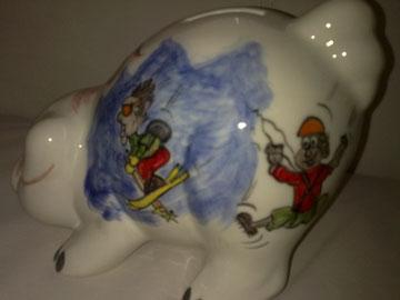 Sparschwein für Hochzeiten, zur Geburt, zur Pension,für ein Jubiläum, für Kindergeburtstage... einfach ein originelles Geschenk!!