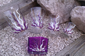 dazupassend, Vasen in lila!