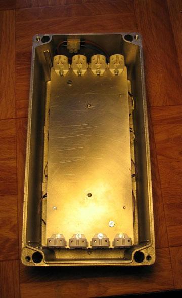 UV Belichtungsgerät (Prototyp) , UV-Röhren herausgenommen