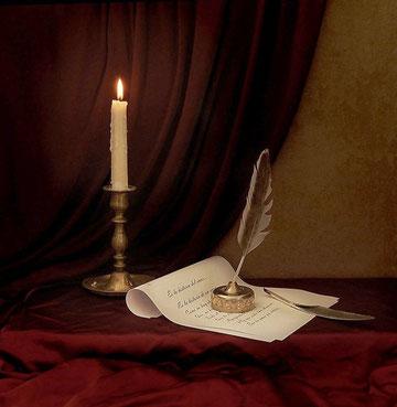 Натюрморт со свечей