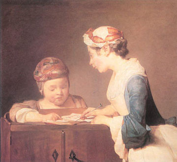 Chardin - La maestrina