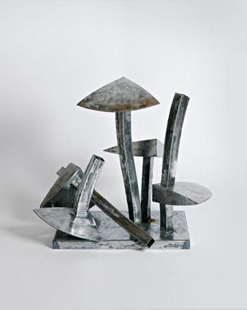 Nägelpilze, 67 x 48 x 56 cm, Eisen, 2009