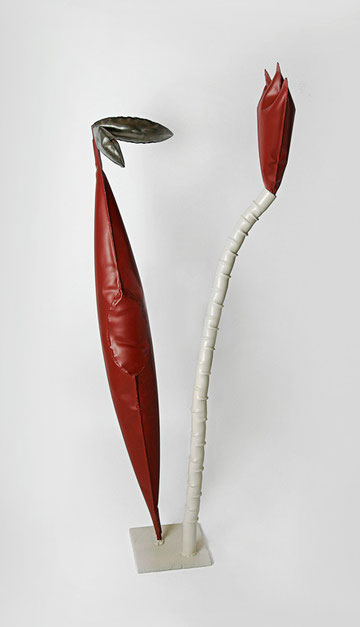 Talking Heat Bottles,  77 x 40 x 168 cm, 1998
