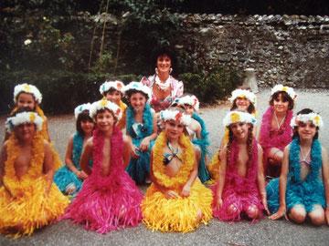 Les danseuses des îles