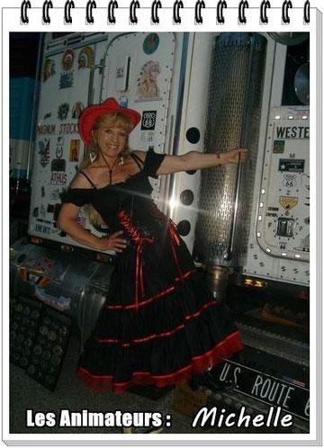 Michelle  - Animatrice Country Débutants  & Danse en ligne à BBA