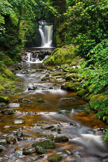 - 6 -    Schwarzwald Wasserfall mit Bachlauf