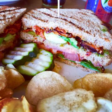 blt sandwich at the acre