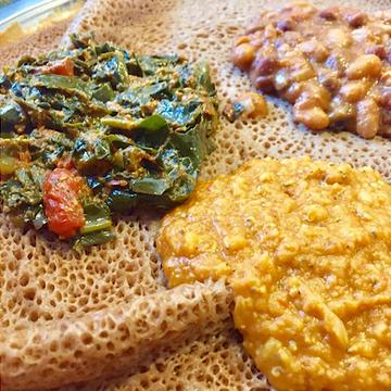 ethiopian injera dish from talking drums