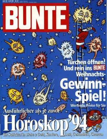 Bunte - cover