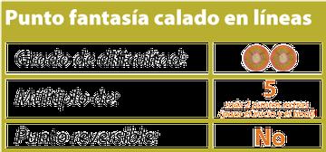 punto fantasia calado en lineas tejiendoperu.com