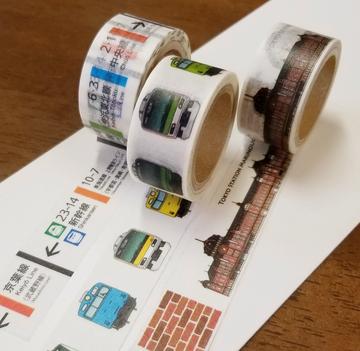 トレニアートマスキングテープ