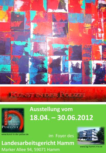 Plakat Ausstellung Hamm