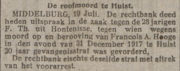 Nieuwsblad van het Noorden 19-07-1918