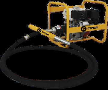 Vibrador a Gasolina CIPSA motor Mpower, Kohler y Honda