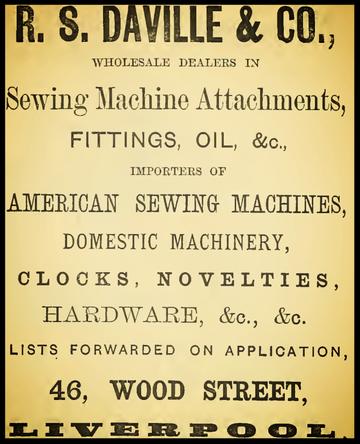 1881 Advertisement