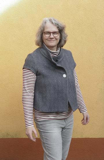 Kopierte Weste und Rollkragenshirt © GriseldaK 2018