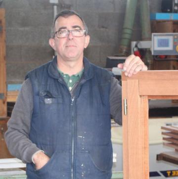 M. LETHU, gérant de la Menuiserie LETHU depuis 16 ans