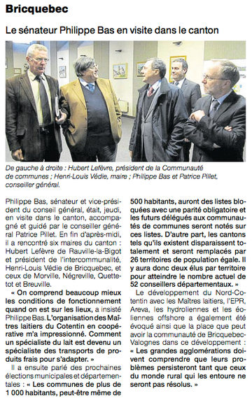 Ouest-France, 11 février 2013