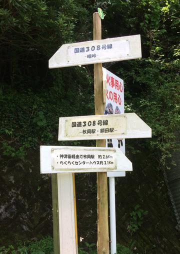 暗峠(筆者撮影)