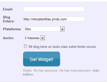 obtener widget