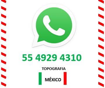 whatsapp de topografia mexico