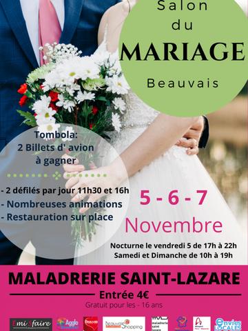 Salon du Mariage de Beauvais 5, 6 et 7 Novembre 2021