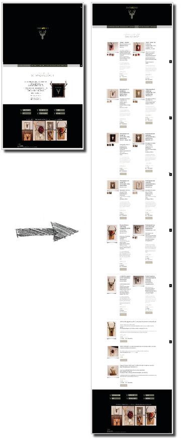 Bild mit Referenz für Umsetzung Website Internetseite inkl Shop und Verlinkung zu Kunden https://www.schwarzwaldgweih.de.