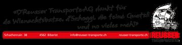 Trattoria il Peperoncino - Reusser Transporte AG Biberist