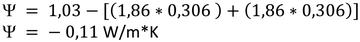 Beispiel Wärmebrückenberechnung