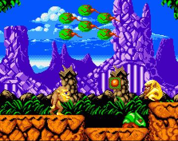 Toki versión Amiga, muy similar a la máquina recreativa