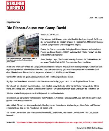 """Artikel von """"Berliner Kurier"""""""