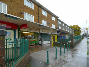 Wychall Road shops Photograph downloaded from Geograph OS reference SP0379  © Copyright Jonathan Billinger and licensed for reuse under Creative Commons Licence Attribution-Share Alike 2.0 Generic.