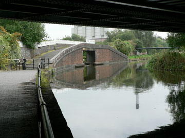 The Ackers Trust canal basin. Photograph by kind permission of John Fox, Foxy's Island Walks.