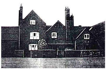 Berwood Hall  farmhouse ?1940s from Geoff Bateson's online 'A History of Castle Vale'