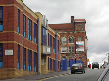 Newhall Hill leading up to the Jewellery Quarter