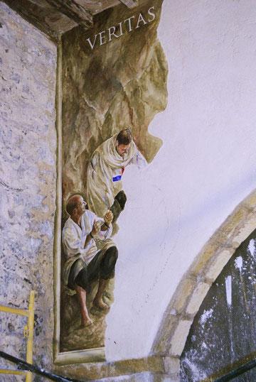 pintura al fresco, pintura mural