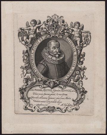 Balthasar Rüffer III (1569 - 1637) Kupferstich um 1637