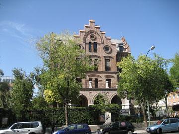 """Die evangelische Schule """"El Porvenir"""" (die Zukunft), die auch von den Madrid-Fahrerinnen und Madrid-Fahrern besucht wurde"""