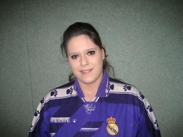 Vanesa Santiago Fernandez im Trikot  von Real Madrid