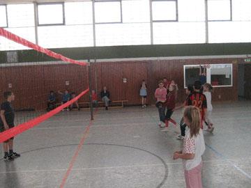 Volleyball ist wieder an der Hans-Christian-Andersen-Grundschule angesagt